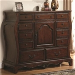 Cherry Chest with Drawers