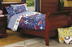 High Quality Youth Sleigh Bed