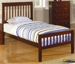 Brand New Twin Slat Headboard & Footboard Bed