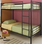 High Quality Twin over Twin Bunk Bed