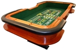 Solid Wood Professional Las Vegas Style Craps Table