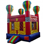 Commercial Grade Inflatable Hot Air Balloon Bouncer Bouncy House