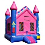 Commercial Grade Inflatable Princess Castle Bouncer Bouncy House