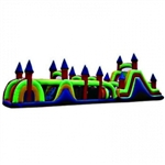 Commercial Grade Inflatable Super Castle Obstacle Course