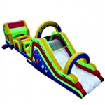 Commercial Grade Inflatable Super Slide Obstacle Course