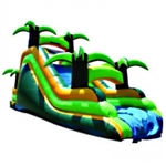 Commercial Grade Inflatable Palm Tree Slide