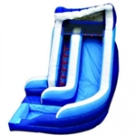Commercial Grade Inflatable 16ft Curvy Water Slide
