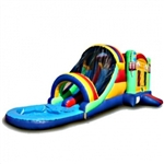 Commercial Grade Inflatable Water Combo Bouncy House