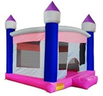 Inflatable Girls Moon Bouncer Bouncy House Castle w/ Blower