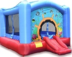 Wild Reef Bouncer House Bouncy House with Blower