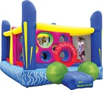 Jumping Dodge Ball Bouncer Bouncy House With Blower