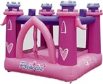 Little Princess Bouncer Bouncy House With Blower