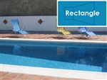 Complete 12'x24' Rectangle In Ground Swimming Pool Kit with Steel Supports