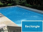 Complete 16'x32' Rectangle InGround Swimming Pool Kit with Polymer Supports