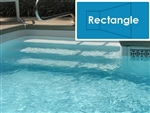 Complete 16'x32' Rectangle InGround Swimming Pool Kit with Steel Supports