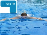 Complete 16x38x24 Full L 4R InGround Swimming Pool Kit with Wood Supports