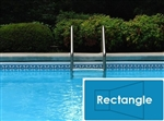 Complete 18'x36' Rectangle InGround Swimming Pool Kit with Steel Supports