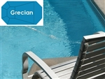 Complete 19'x41' Grecian InGround Swimming Pool Kit with Wood Supports