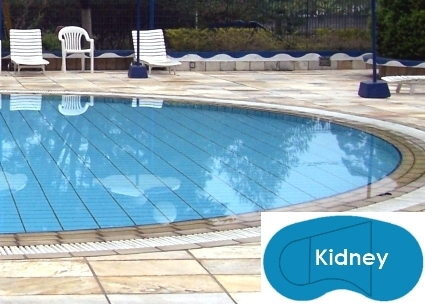 Complete 20\'x38\' Kidney InGround Swimming Pool Kit with ...