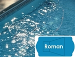 Complete 20'x42' Roman InGround Swimming Pool Kit with Wood Supports