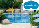 Complete 21'x35' Mountain Lake In Ground Swimming Pool Kit with Wood Supports