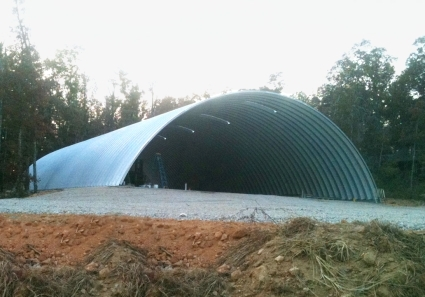 40 X 80 X 18 Prefab Metal Arch Quonset Storage Building