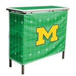 Brand New Michigan Wolverines High Top Tailgate Table