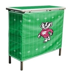 Brand New Wisconsin Badgers High Top Tailgate Table