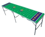 Brand New Louisiana State Tigers 2' x 8' Tailgate Table - Officially Licensed