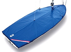 Laser II Dinghy Flat Top Cover - Cotton/polyester