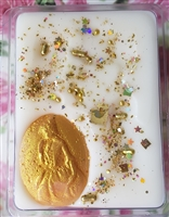 Alice Dressed in Gold Wax Tart