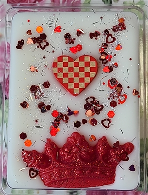 Queen of Hearts Wax Tart