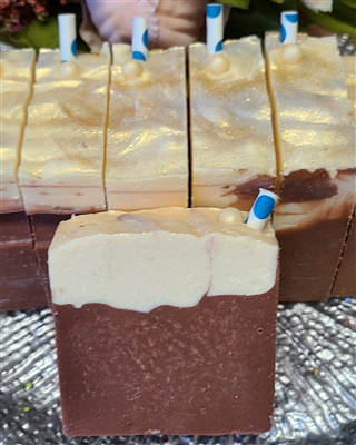 Root Beer Float Almond Milk Cold Process Soap