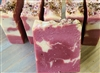 Salted Rose Almond Milk Cold Process Soap