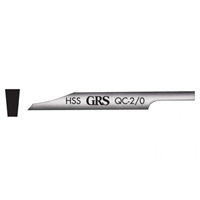 GRS Quick Change Gravers Flat High Speed
