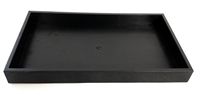 Black Jewellery Tray 1.5 Inch Height
