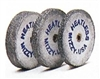 "Mizzy Heatless Wheels 7/8"" Diameter x 1/8"" Thick - 1 Dozen"