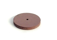 Square Edged Rubberized Polishing Wheels 7/8 X 1/8 Hi-Shine Pink (5)