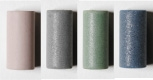 Cylinder Assorted: Blue, Grey, Green and Pink (4)