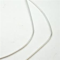 French Wire Silver-Plated  0.8MM (Fine) German