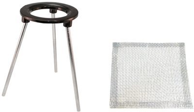 Tripod and Mesh Screen for soldering