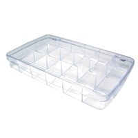 Storage Box Plastic 18 Compartments