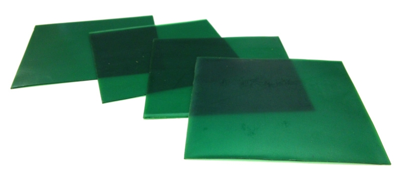 Casting Wax Sheets Firm Green
