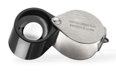 Bausch & Lomb 20x Coddington Loupe