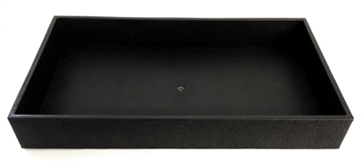 Black Jewellery Tray 2 Inch Height
