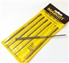 Needle File Set of 6 Cut 2 Medium Mascot Swiss