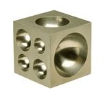 Dapping Block Cube Steel 2 x 2 inches