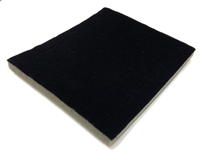 Foam Pad Black 36 Rings 7.5 x 6.5 Inches