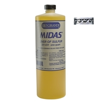 Midas Liver of Sulfur Liquid 1 Quart