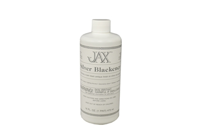 Jax Silver Blackener works on Silver, Gold Pint
